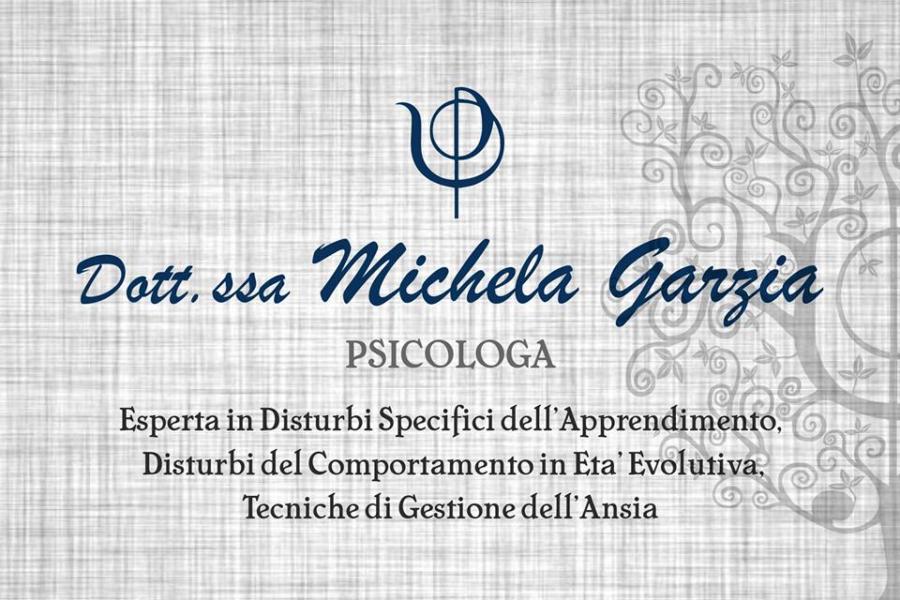 Dott.ssa Michela Garzia – Psicologa